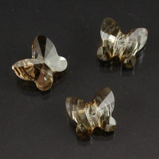 Fluture 8 mm - Crystal Golden Shadow