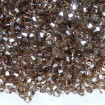 Biconic Swarovski 4 mm - Light Colorado Topaz Satin