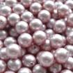 Perle Rotunde 8 mm semigaurite - Powder Rose