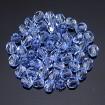 Fire polish 4 mm - Light Sapphire