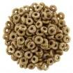 O-Beads - Luster Transp Gold White