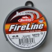 Fireline size B 4lb - Crystal 50y