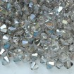 Biconic Swarovski 6 mm - Crystal Satin