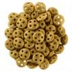 Quadra Lentil - Matte Metallic Antique Gold