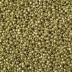 Pachet TOHO Round 11/0 - PF Galvanized Yellow Gold