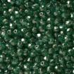 Fire polish 4 mm - Luster Emerald