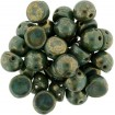 Cabochon 6 mm - Persian Turquoise Bronze Picasso