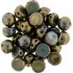 Cabochon 6 mm - Oxidized Bronze