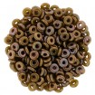 O-Beads - Oxidized Bronze Chartreuse