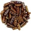 Beam Beads - Bronze Vega Opq Red