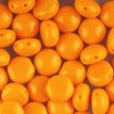 Margele Candy 8 mm - Opaque Orange