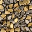 Margele PIP 7 x 5 mm - California Graphite Matte