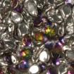 Margele PIP 7 x 5 mm - Crystal Vitrail