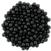 Round Beads 3 mm - Powdery Jet
