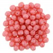 Fire polish 4 mm - Pearl Shine Rose