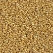 Miyuki Round Rocailles 15/0 - Duracoat Galv Gold