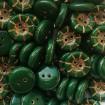 Nasture 14 x 5 mm - Verde-auriu