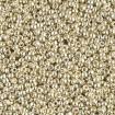 Miyuki Round Rocailles 11/0 - Galvanized Silver
