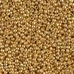 Miyuki Round Rocailles 11/0 - Galvanized Gold