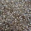 TOHO Round 8/0 - Gold-Lined Rainbow Crystal