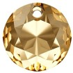 Classic Cut Pendant 14 mm - Crystal Golden Shadow
