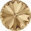 Rivoli 12 mm - Crystal Golden Shadow