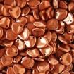 Petals 8 x 7 mm - Matte Met Copper