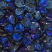 Petals 8 x 7 mm - Crystal Blue Azure