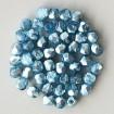 Fire polish 3 mm - Labrador Solgel Blue