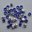 Roses Montees 4 mm - Majestic Blue