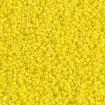 Miyuki Round Rocailles 15/0 - Opq Yellow AB