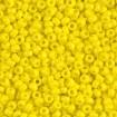 Miyuki Round Rocailles 8/0 - Opq Yellow