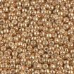 Miyuki Round Rocailles 8/0 - Galv Gold