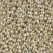 Miyuki Round Rocailles 8/0 - Duracoat Galv Silver