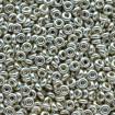 TOHO Demi Round 8/0 - PF Galvanized Aluminum