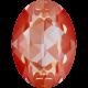 Oval 18 x 13 mm - Orange Glow DeLite