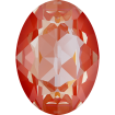 Oval 18 x 13 mm - Orange Glow DeLite
