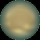 Perle Banut  10 mm - Iridescent Green