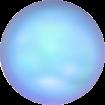 Perle Banut  10 mm - Iridescent Lt. Blue