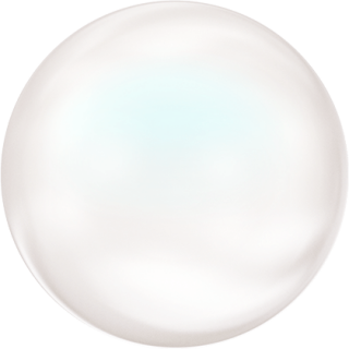 Perle Banut  10 mm - Pearlescent White