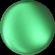 Perle Banut  10 mm - Eden Green