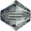 Biconic Swarovski 6 mm - Black Diamond