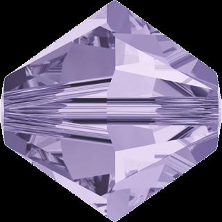 Biconic Swarovski 6 mm - Violet