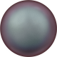 Perle Banut  10 mm - Iridescent Red