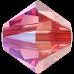 Biconic Swarovski 4 mm - Rose Peach Shimmer