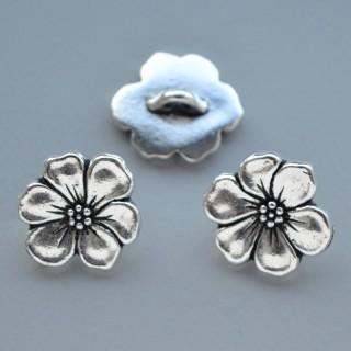 Nasture Apple Blossom - Antique Silver