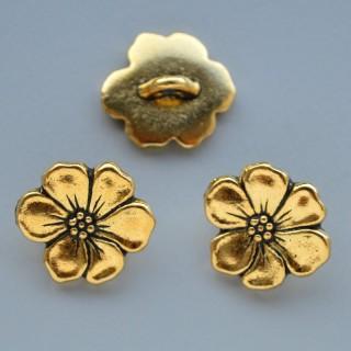 Nasture Apple Blossom - Antique Gold