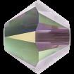 Biconic Swarovski 3 mm - Iris AB2X