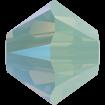 Biconic Swarovski 3 mm - Chrysolite Opal Shimmer