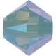 Biconic Swarovski 3 mm - Chrysolite Opal Shimmer 2X